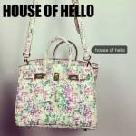 HOUSE OF HELLO-022 潮流時尚惡搞HERMES BIRKIN彩色全皮大小號手提單肩包鉑金包