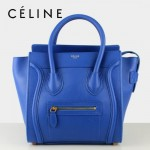 賽琳囧型女包藍色手提包26cm 88023-6