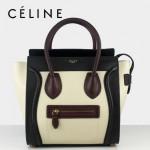 賽琳囧型女包超時尚拼色手提包26cm 88023-3