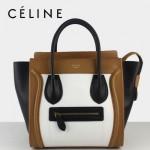 賽琳囧型超時尚女包拼色手提包26cm 88023-1