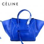 CELINE 88033-14 新款大牌藍色小牛皮女士時尚手提蝙蝠包