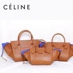 CELINE 88091-4 新款高檔時尚潮流棕色(大號)大氣女包女士手提包