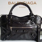 BALENCIAGA 084832-1-黑色-羊皮 巴黎世家女士手提包 時尚單肩包