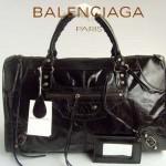 BALENCIAGA 084324-1-克色 進口皮 巴黎世家 女士時尚手提包