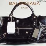 BALENCIAGA 084328A-黑色-羊皮 巴黎世家 女士時尚手提包