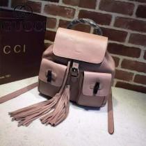 新款Gucci370833-1 專櫃品質,原版皮質,實物實拍!裸粉雙肩包