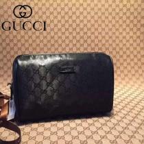 Gucci  189818  2015春夏新款原版皮手拿包