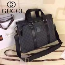 Gucci  268481-1  2015春夏新款男士公文包