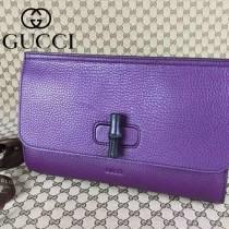 GUCCI新款 387220-3 手包,晚宴包!專櫃品質,原版皮質,實物實拍!深紫色皮