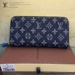 LV M95341-最新款牛仔布配牛皮時尚錢包