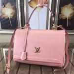 LV M41158-3 新款LOCKME 系列全皮手袋 粉色