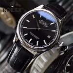 ROLEX-03-2 潮流時尚Datejust系列日誌型藍寶石鏡面皮帶款腕錶