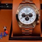 ROLEX-010-3 歐美新款宇宙型迪通拿玫瑰金系列大錶盤鋼帶款腕錶