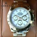 ROLEX-014 新款商務男士宇宙型迪通拿土豪金鋼帶款腕錶