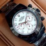 ROLEX-015-4 時尚精英款宇宙型迪通拿槍色陶瓷腕錶