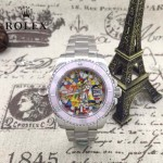 ROLEX-023 全球限量紀念款蠔氏恒動水鬼瑞士2836機芯鋼帶款機械錶