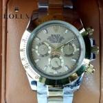 ROLEX-014-8 新款商務男士宇宙型迪通拿間金系列鋼帶款腕錶
