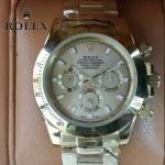 ROLEX-014-2 新款商務男士宇宙型迪通拿土豪金鋼帶款腕錶