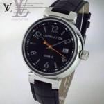 LV-0043 新款潮流商務男士魅力黑色錶盤自動機械腕錶