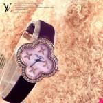 LV-004 新款女士四葉系列范冰冰同款限量版鑲鑽腕錶