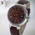 LV-0042 新款潮流商務男士魅力褐色自動機械腕錶