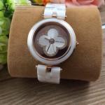 LV-001 新款潮流女士時尚Tarmbour Forever陶瓷鑲鑽系列腕錶