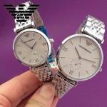 ARMANI-186 時尚潮流原單情侶超薄系列鋼帶腕錶