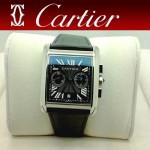 CARTIER-179 人氣男士休閒劉德華同款TANK MC系列石英腕錶