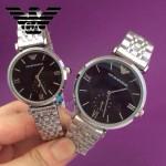ARMANI-187 時尚潮流原單情侶超薄系列鋼帶腕錶