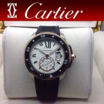 CARTIER-169 新款劉德華代言同款男士商務機械腕錶