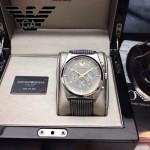 ARMANI-181 時尚潮流新款六針原單皮帶款石英腕錶
