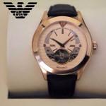 ARMANI-193 時尚新款男士原單陀飛輪自動機械腕錶