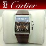 CARTIER-177 人氣男士休閒劉德華同款TANK MC系列石英腕錶