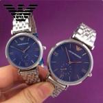 ARMANI-185 時尚潮流原單情侶超薄系列鋼帶腕錶