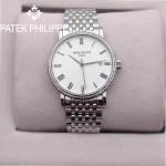 PATEK PHILIPPE-067-1 百達翡麗超薄男腕表 2824瑞士機芯籃寶石防刮耐磨玻璃 316精鋼