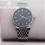 PATEK PHILIPPE-067-2 百達翡麗超薄男腕表 2824瑞士機芯籃寶石防刮耐磨玻璃 316精鋼
