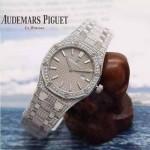AP-074 皇家橡树石英女装腕表表针与表盘强夜光  精钢表壳和精钢表带