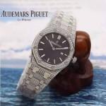 AP-073   皇家橡树石英女装腕表表针与表盘强夜光  精钢表壳和精钢表带