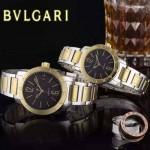 Bvlgari-38 人氣熱銷單品古羅馬元素間金系列黑底情侶款瑞士ETA2824機械腕錶