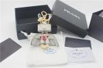 PRADA 001 普拉達白色天使包包吊飾鑰匙圈小精品