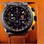 Porsche-030 男士腕表進口石英機芯 316精鋼表殼真皮表帶