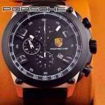 Porsche-031 男士腕表進口石英機芯 316精鋼表殼真皮表帶