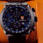 Porsche-032  男士腕表進口石英機芯 316精鋼表殼真皮表帶