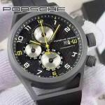 Porsche-029  純天然橡膠以及钛鋼材質  日本6S20石英機芯