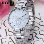 RADO-012 潮流新款COUPOLE晶燦系列四針設計閃亮銀白底316鋼殼石英腕錶