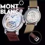 MONTBLANC-02 巴塞爾表展新款男士單鈕計時316精鋼材質全自動機械腕錶