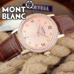 MONTBLANC-06 時尚潮流商務男士藍寶石鏡面瑞士ETA2824機械腕錶