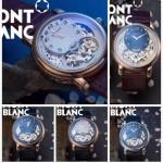 MONTBLANC-03 巴塞爾表展新款男士單鈕計時316精鋼材質全自動機械腕錶