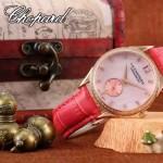 Chopard-09 蕭邦原裝進口石英機芯女士腕表