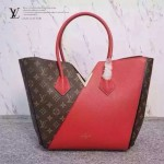 M40460 專櫃新款原版皮Kimono手袋紅色手提包